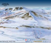 Planos de la Estación de Esquí San Isidro