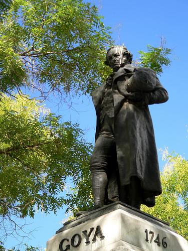 Foto de la Estatua de Goya, Musel del Prado, Madrid