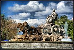 Foto de la Fuente de Cibeles, Madrid, España