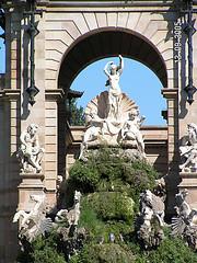 Foto de la Fuente del Parque de la Citadella