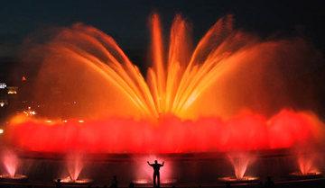 Foto de la Fuente Mágica en Barcelona