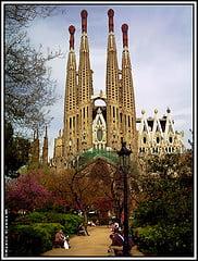 Foto de la Sagrada Familia, Barcelona, España
