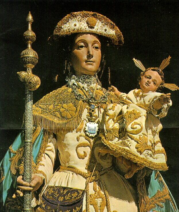 Foto de la Virgen Peregrina de Galicia