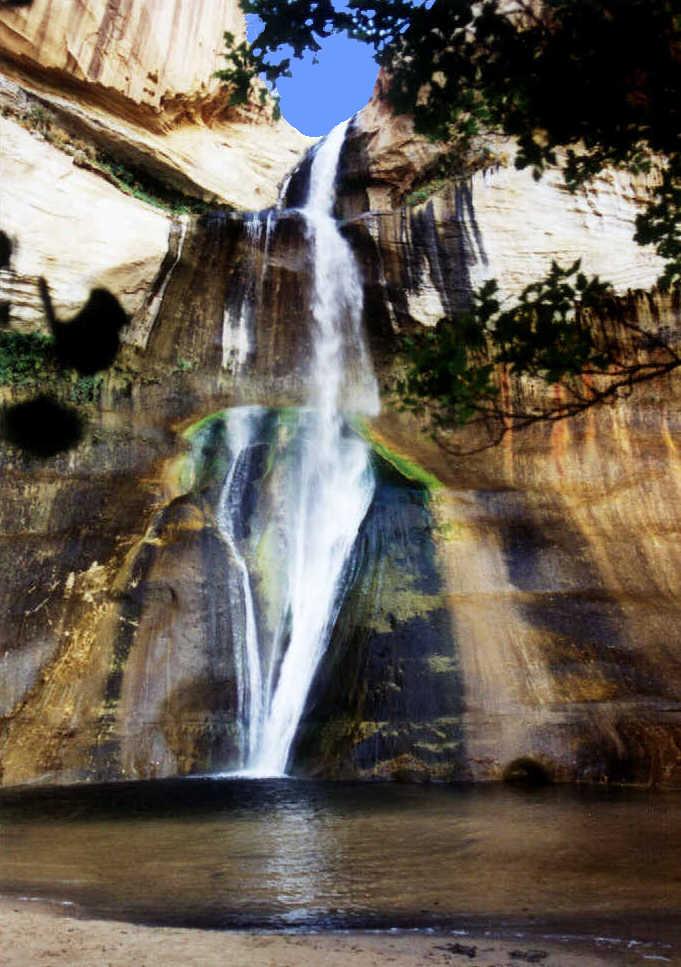 Fotos de las cascadas de Lower Calf, Estados Unidos