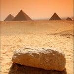 Fotografia de las Piramides de Giza, Egipto