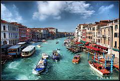 Foto del Gran Canal, Venecia