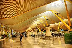 Foto del Interior del Aeropuerto de Barajas, Madrid