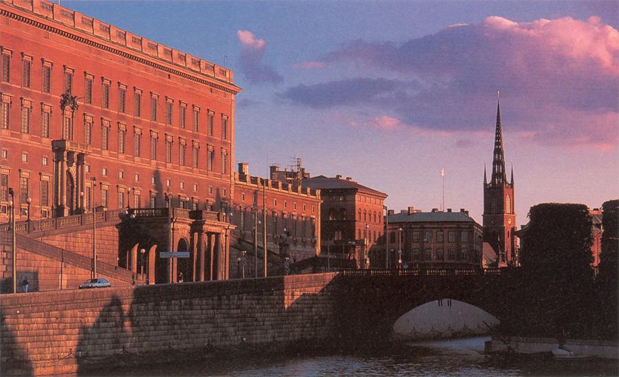 FotoS del palacio real, Estocolmo