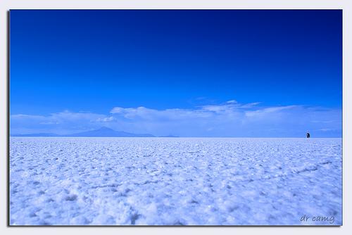 Foto del Salar de Uyuni, Bolivia