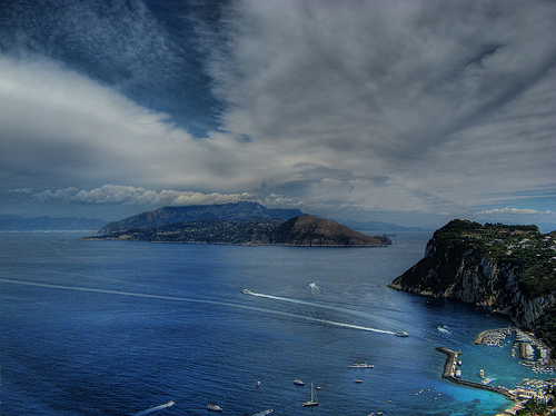 Fotografia de la Bahia de Capri