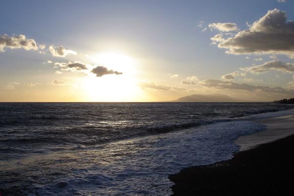 Foto del atardecer en Costa del Sol