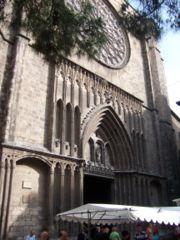 Fotografia de Santa Maria del Pilar, del El Barrio Gótico en Barcelona