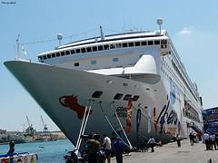 Fotografía del Crucero Grand Mistral