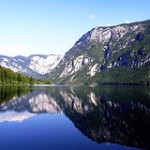 Fotografia del Lago Bohinj en Eslovenia