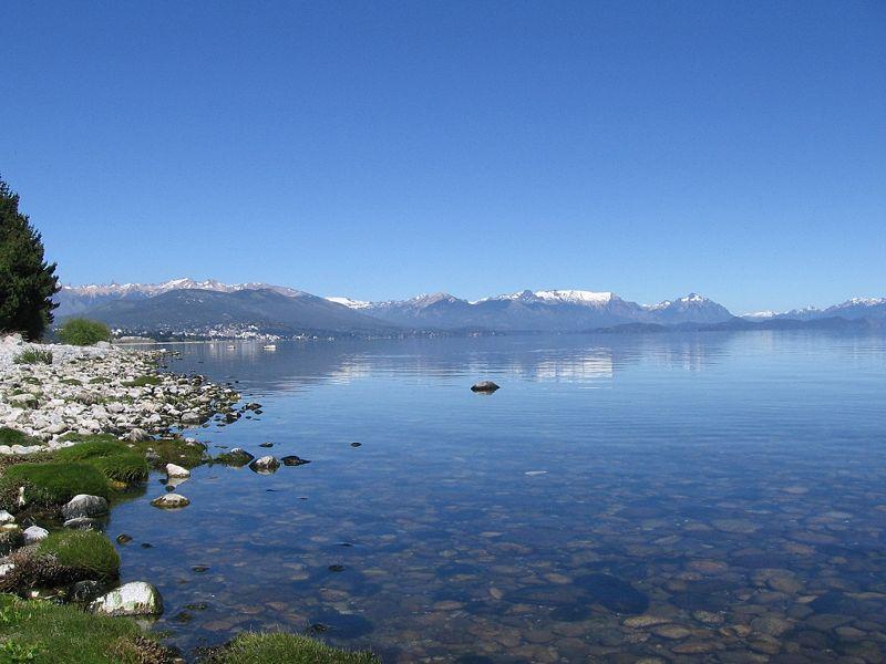 Fotografia del Lago Nahuel Huapi, Argentina