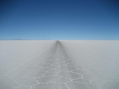 Fotografia del Salar de Uyuni, Bolivia
