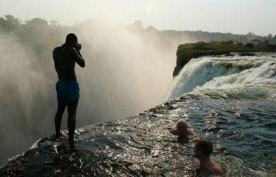 Foto de Cataratas Victoria en Zimbabwe