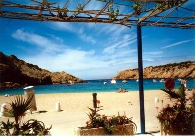 fotos playa ibiza espana