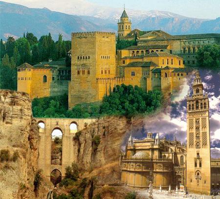 Recorrido por las Capitales Andaluzas