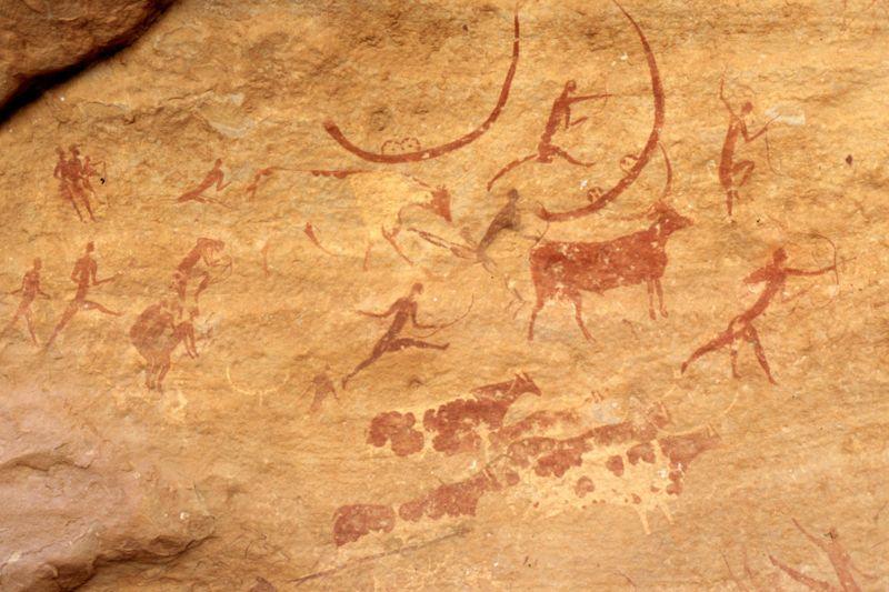 Fotos de argelia pinturas rupestres tassili n ajjer