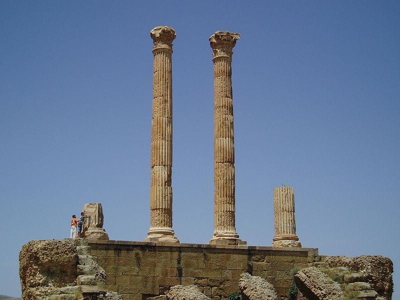 Fotos de Argelia, Ruinas romanas de Timgad