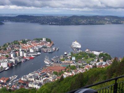Fotos de la hermosa Bergen, Noruega