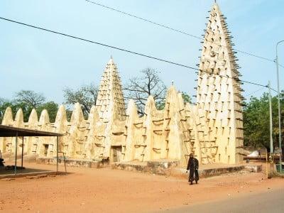 Fotos de Burkina Faso Mezquita en Bobo-Dioulasso