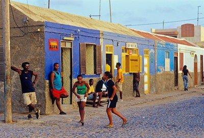 Fotos de Cabo Verde Calles de la Isla de Sal.