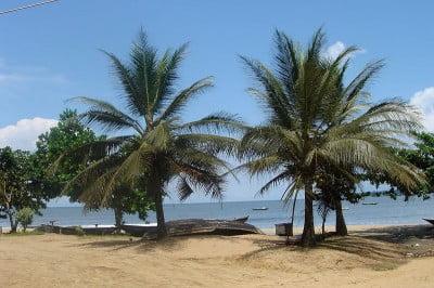 Fotos de Camerún Playa en Kribi.