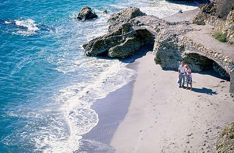 Fotos de la Playa del Salón Nerja, Costa del Sol