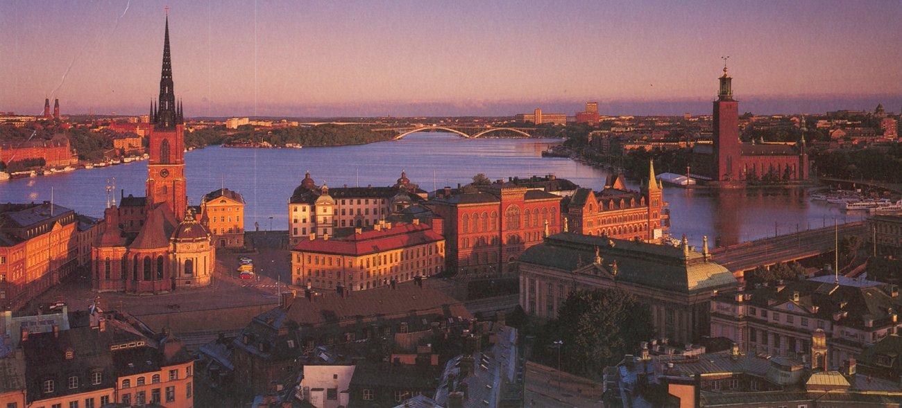 Fotos de las islas en Estocolmo