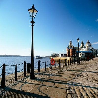 Fotos de Liverpool Boardwalk Mersey en la costa