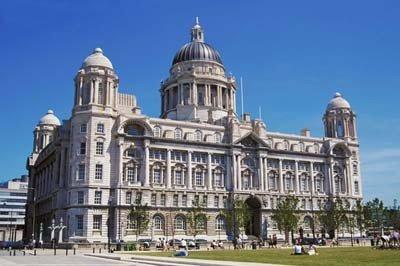 Construcción del puerto de Liverpool