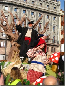 Fotos de Pamplona y su Santa Claus
