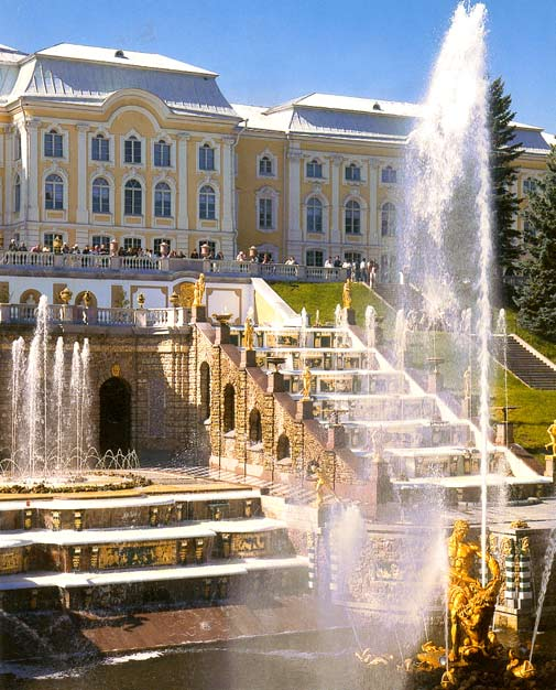 Fotos de Peterhof, Rusia