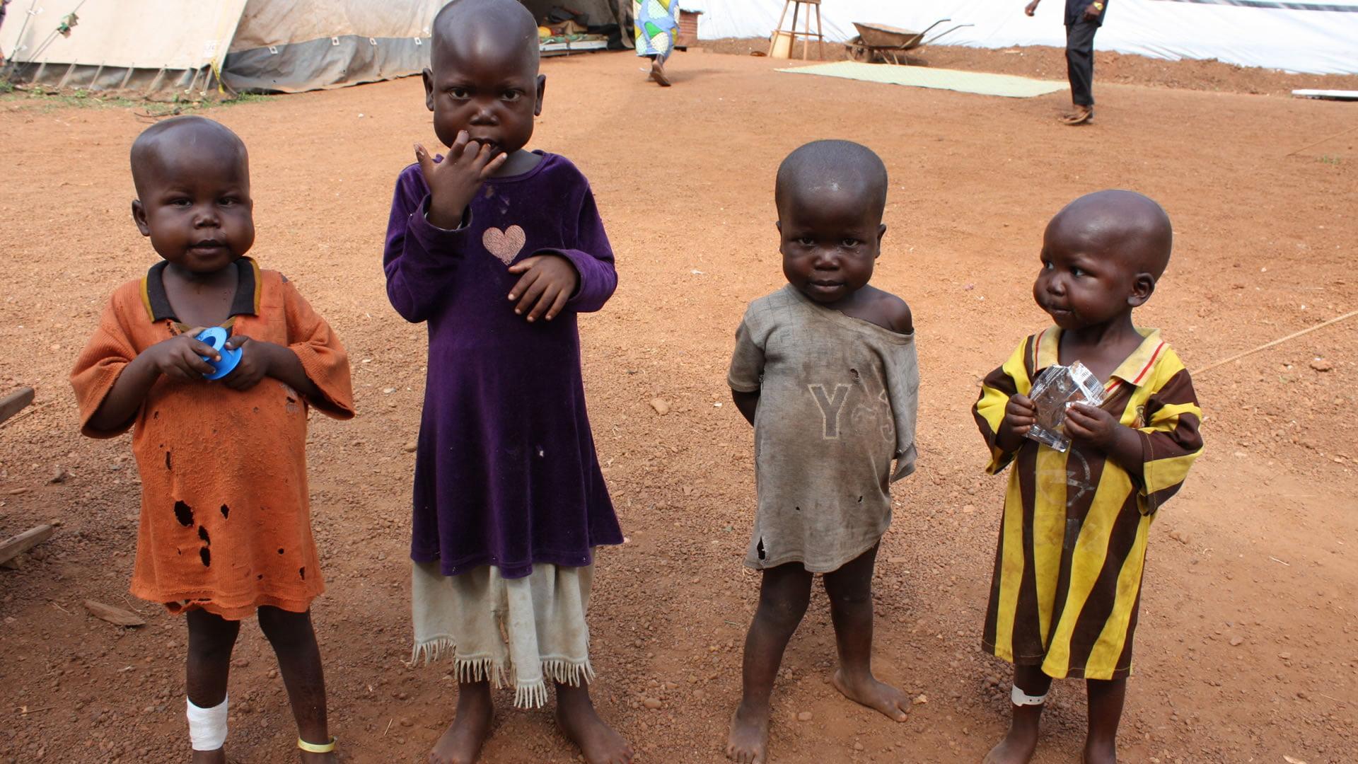 Pobreza en africa fotos