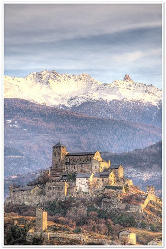 Fotos de los castillos de Valere, Sion