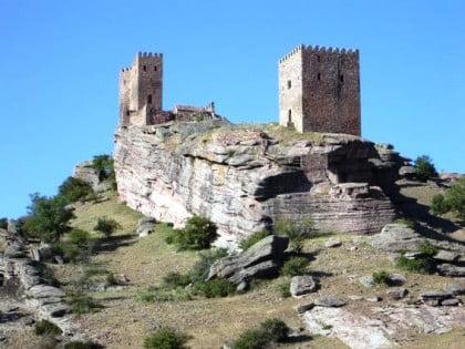 fotos del Castillo de Zafra en Guadalajara