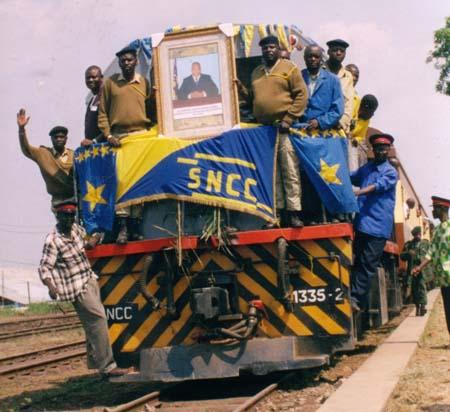 fotos del Congo tren movilidad