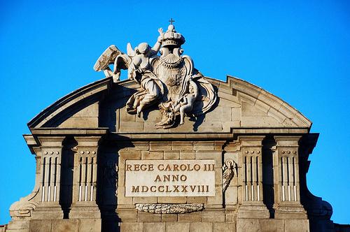 Fotos del Escudo de  la Puerta de Alcala, Madrid