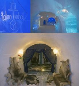 Fotos del Interior del Hotel de Hielo