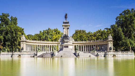 El Parque del Retiro (Madrid)