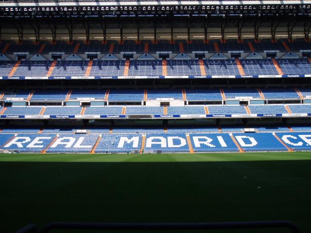 Tour al Estadio Santiago Bernabéu