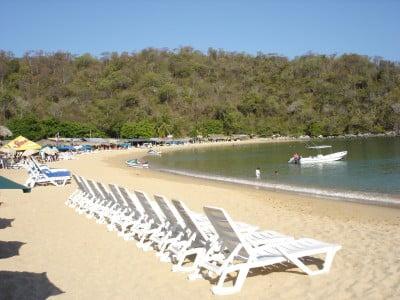 Fotos playas de Huatulco