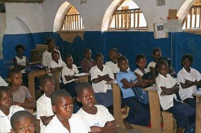fotos Una clase en la República Democrática del Congo