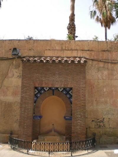Fuente de la antigua Mezquita