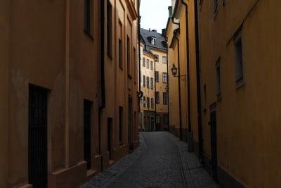 Gamla Stan en Suecia