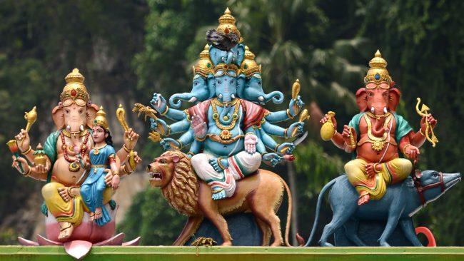 Ganesh: hinduek gurtzen zuten jainkoa