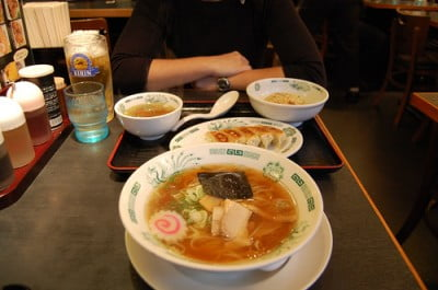 gastronomia en Shinjuku