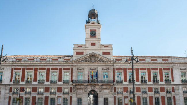 Vistas de la Puerta del Sol, Madrid